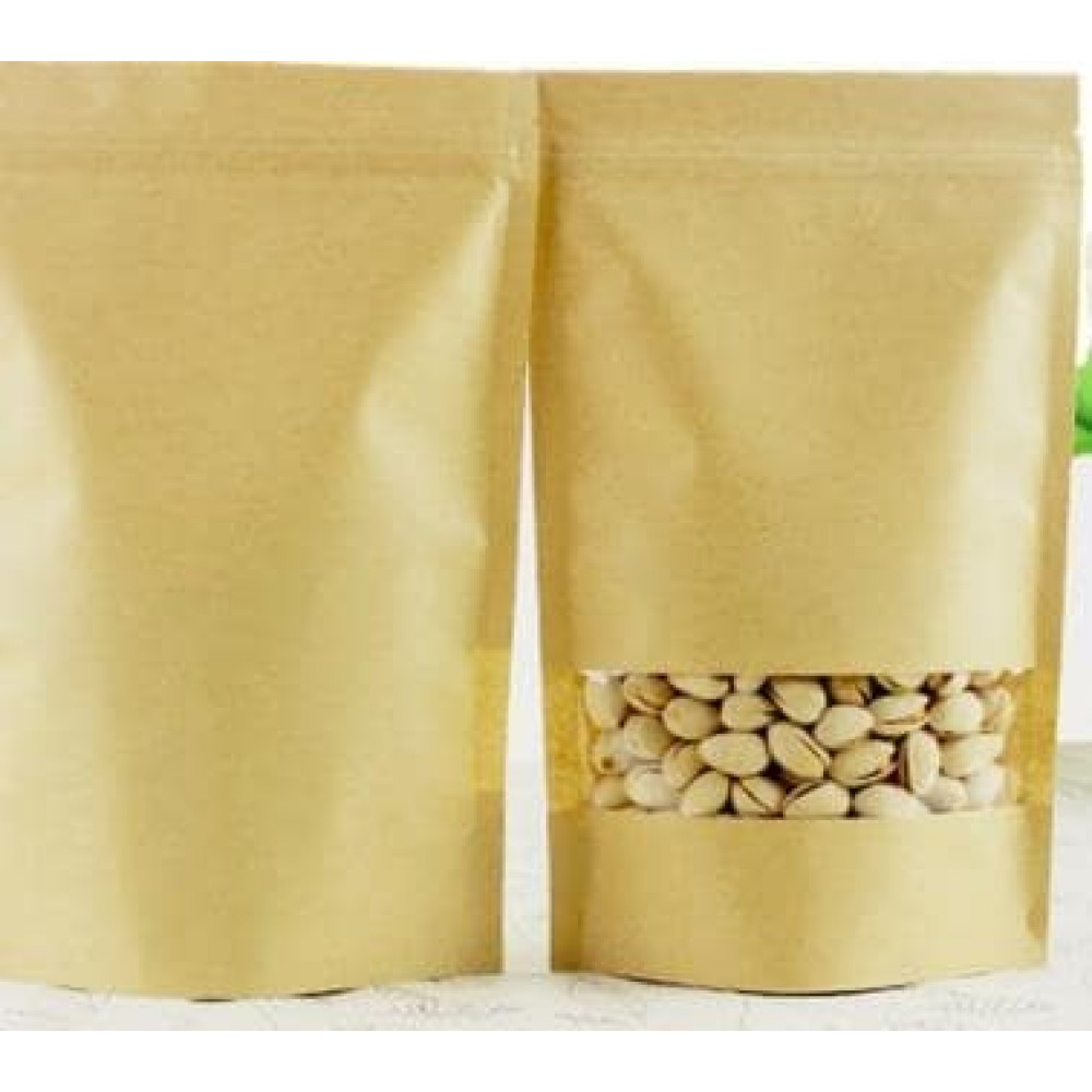 Brown Kraft Paper Stand up Pouch